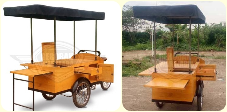 A Mobile Coffee Shop On Wheels Made In Indonesia Bike Succeeds Combining Modern Lifestyle With Traditional Values