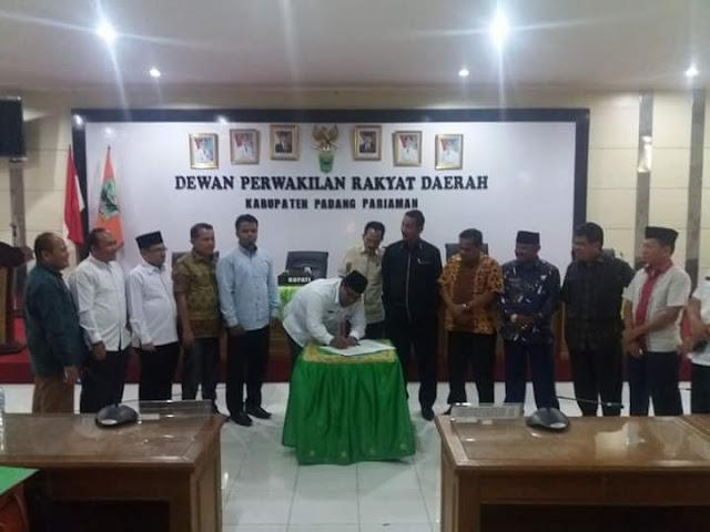 APBD Perubahan 2017 Padangpariaman Ditambah 75 M