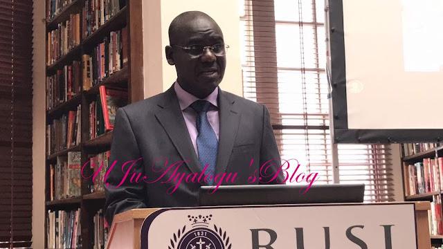 Buratai addresses Royal United Services Institute in UK