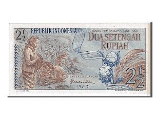 2.5 Rupiah Seri Sandang Pangan Tahun 1960