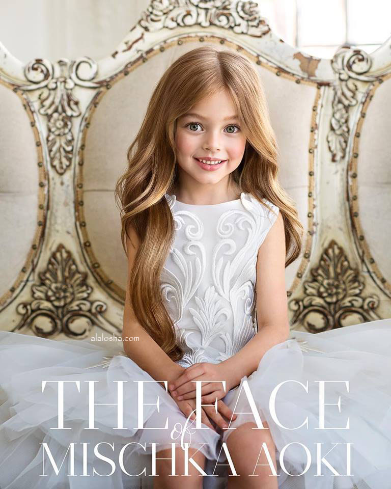 Alalosha Vogue Enfants Child Model Of The Day Lёlya: Interview With WINNIE The Founder Of Mischka Aoki For