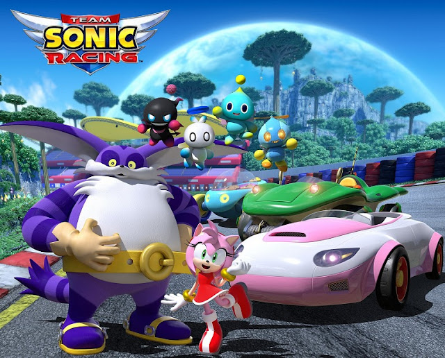 Tres personajes más se confirman para Team Sonic Racing
