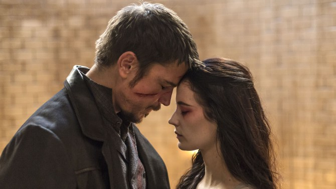 Josh Hartnett y Eva Green en Penny Dreadful