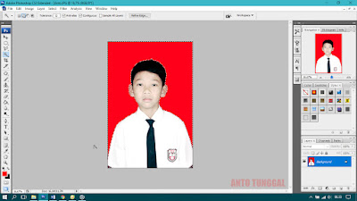 cara menyeleksi foto dengan photoshop