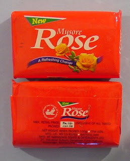 Mysore Sandal's Rose Natural Soap