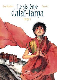 [7BD] Le sixième Dalaï-Lama - tome 2