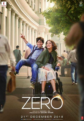 Zero 2018 Full Movie Hindi 1.1GB DVDRip 720p Download