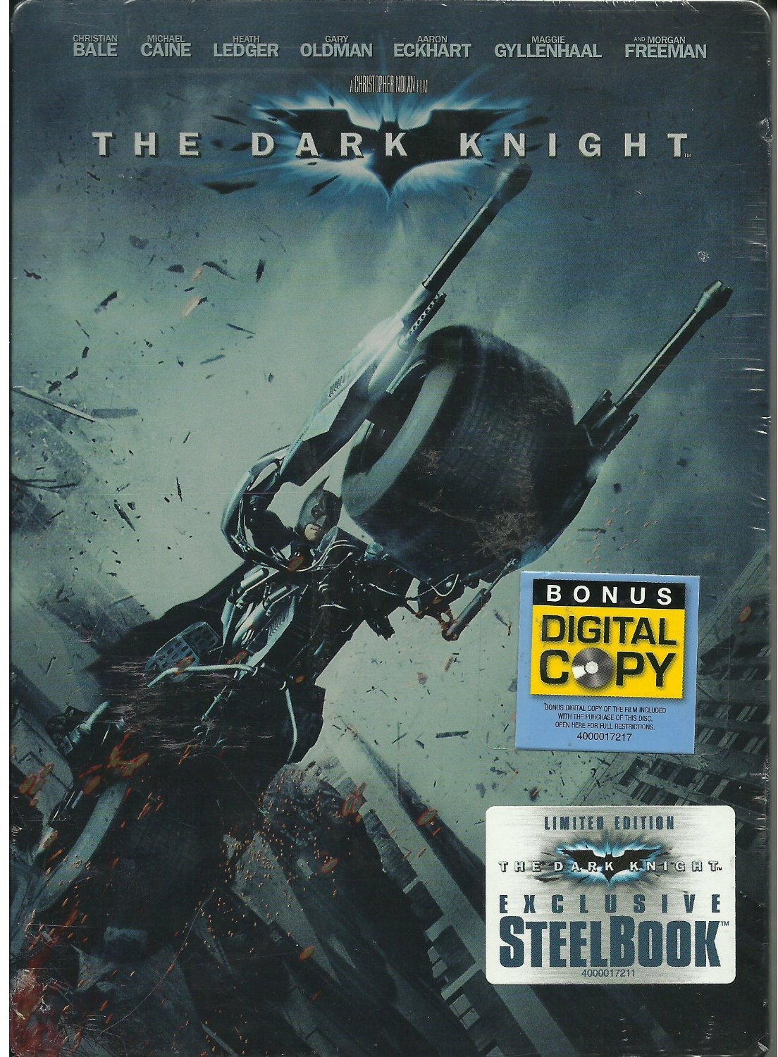 Blu-ray & DVD Exclusives: The Dark Knight: F Y E  Exclusive