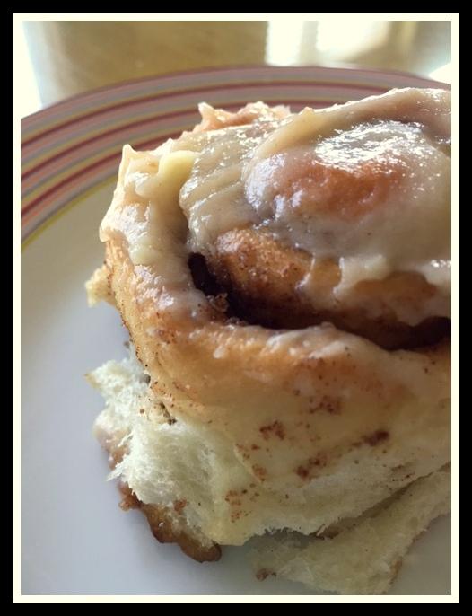 cinnamon rolls bread machine
