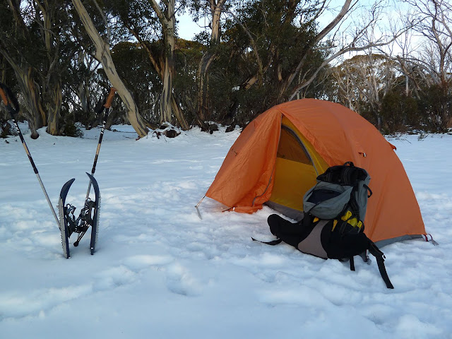 Camped at Roper Hut