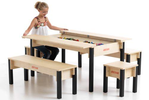 Speeltafel Met Opbergruimte.Junktrunk Speeltafel En Opbergruimte Speelgoed Wonen 2019