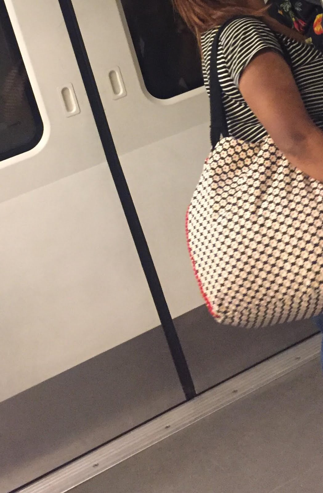 Ladybug In The Metro 2018 Oops Stary Back Pack Get Free Easy Click Ladybird Wherein I Saw People Changing From Proverbial Ducklings To Swan As They Took Out Magic Potions Their Huge Beautiful Bags Various