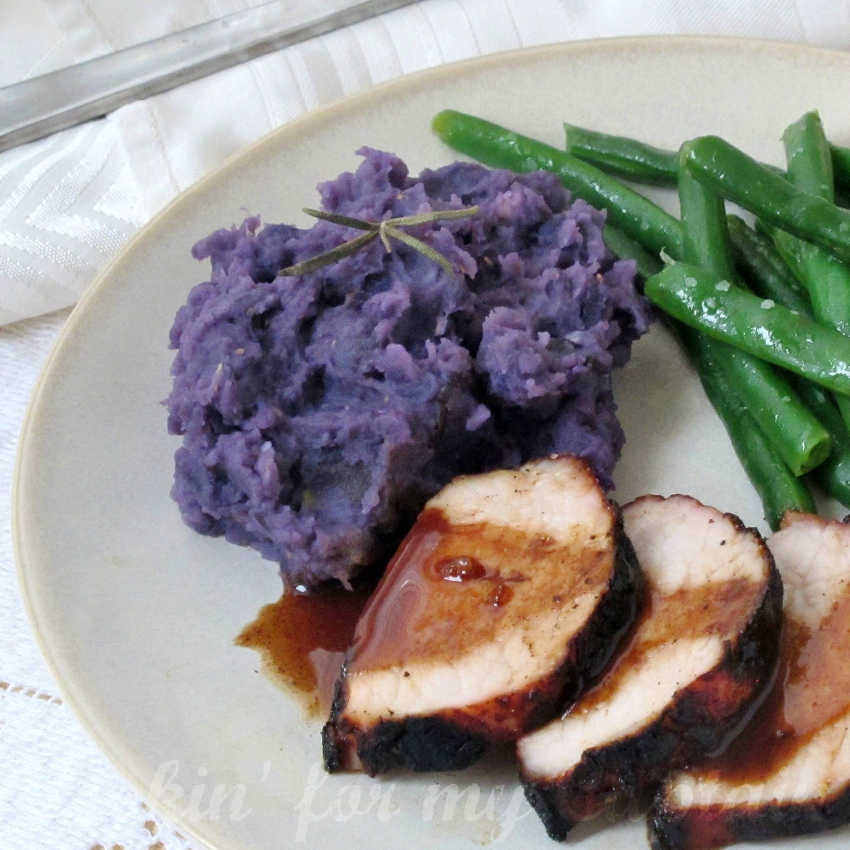 Cookin For My Captain Purple Mashed Potatoes