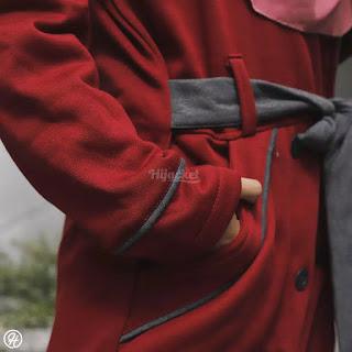 """Detail Produk  ▶️ Ukuran : ALL SIZE FIT TO L  ▶️ Material : Premium Fleece yang """"SOFT TOUCH"""" langsung dari pabrik pengolah kain berpengalaman  ▶️ Proses : Dibuat Handmade dengan penjahit terbaik yang berpengalaman lebih dari 5 tahun  ▶️ Bordir Berkualitas  ▶️ Bukan sekedar fashion. Namun menguatkan """"JATI DIRI / IDENTITAS"""" Hijaber yang modis dan stylish"""