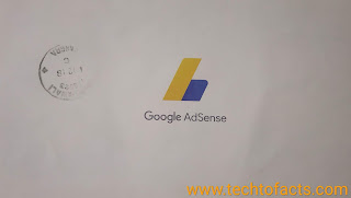 A verfication letter from google adsense