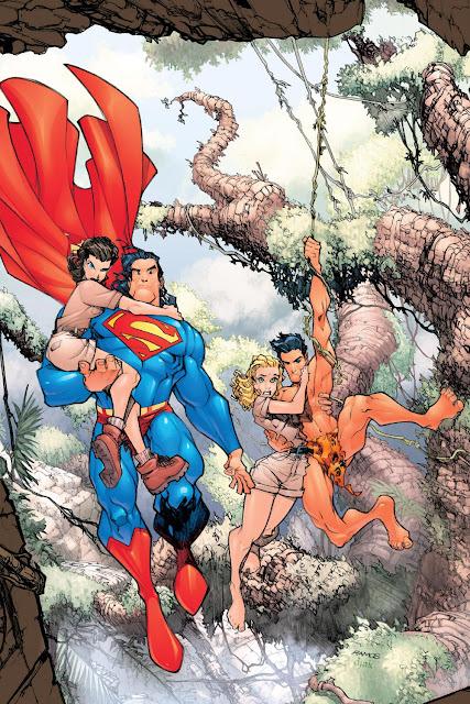 superman and tarzan