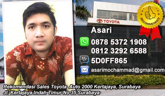 Rekomendasi Sals Toyota Auto 2000 Kertajaya Surabaya