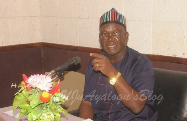 Your IGP is the drowning man, Ortom hits back at police spokesman