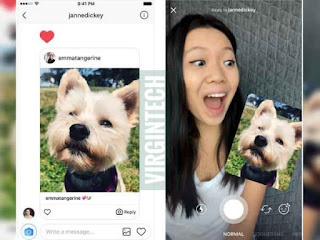 Instagram has added a new feature that lets users respond to certain images, videos and re-shared posts in Direct Message by sending photos or videos.