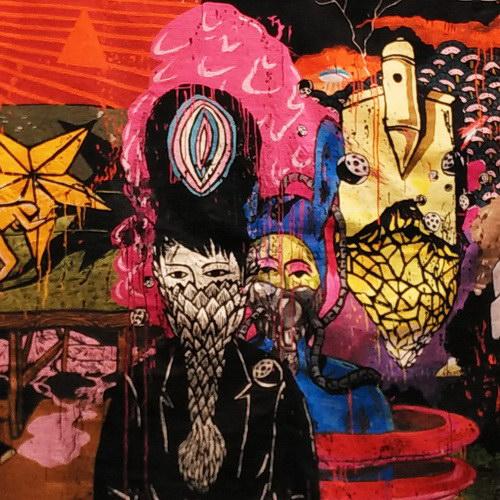 Tinuku The latest work pop artist Eko Nugroho presents embroidery to Arario Gallery at Art Stage Singapore 2017