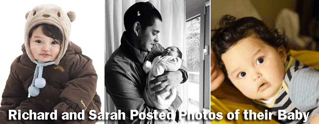 Richard Gutierrez and Sarah Lahbati Posted Photos of their Baby Zion