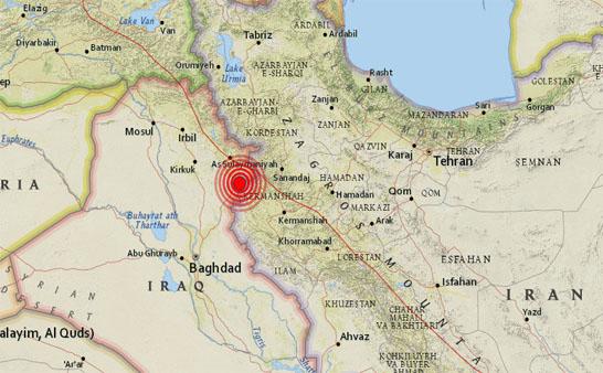 Un terremoto 5,4 sacude la zona fronteriza entre Irak e Irán
