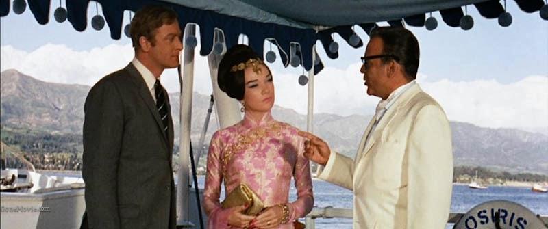 Gambit 1966 heist film Michael Caine Shirley MacLaine
