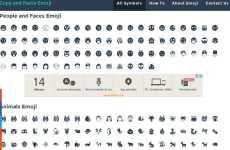 Copy and Paste Emoji: un sitio web que permite copiar y pegar emojis en Facebook, Twitter, Snapchat, y otras redes sociales