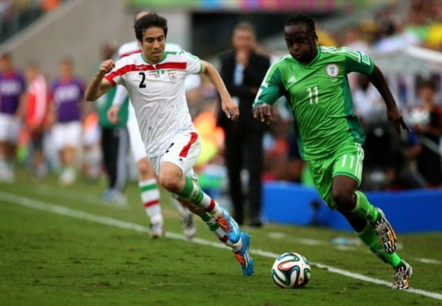 2014 World Cup: Iran 0-0 Nigeria: Super Eagles Held in Drab Stalemate