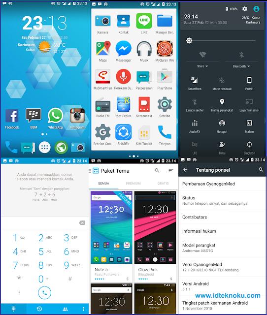 Custom ROM CyanogenMod 12.1 Nightly untuk Smartfren Andromax R