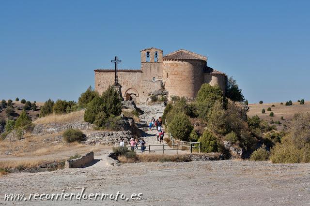 Ermita de San Frutos, Hoces del Duratón, Segovia
