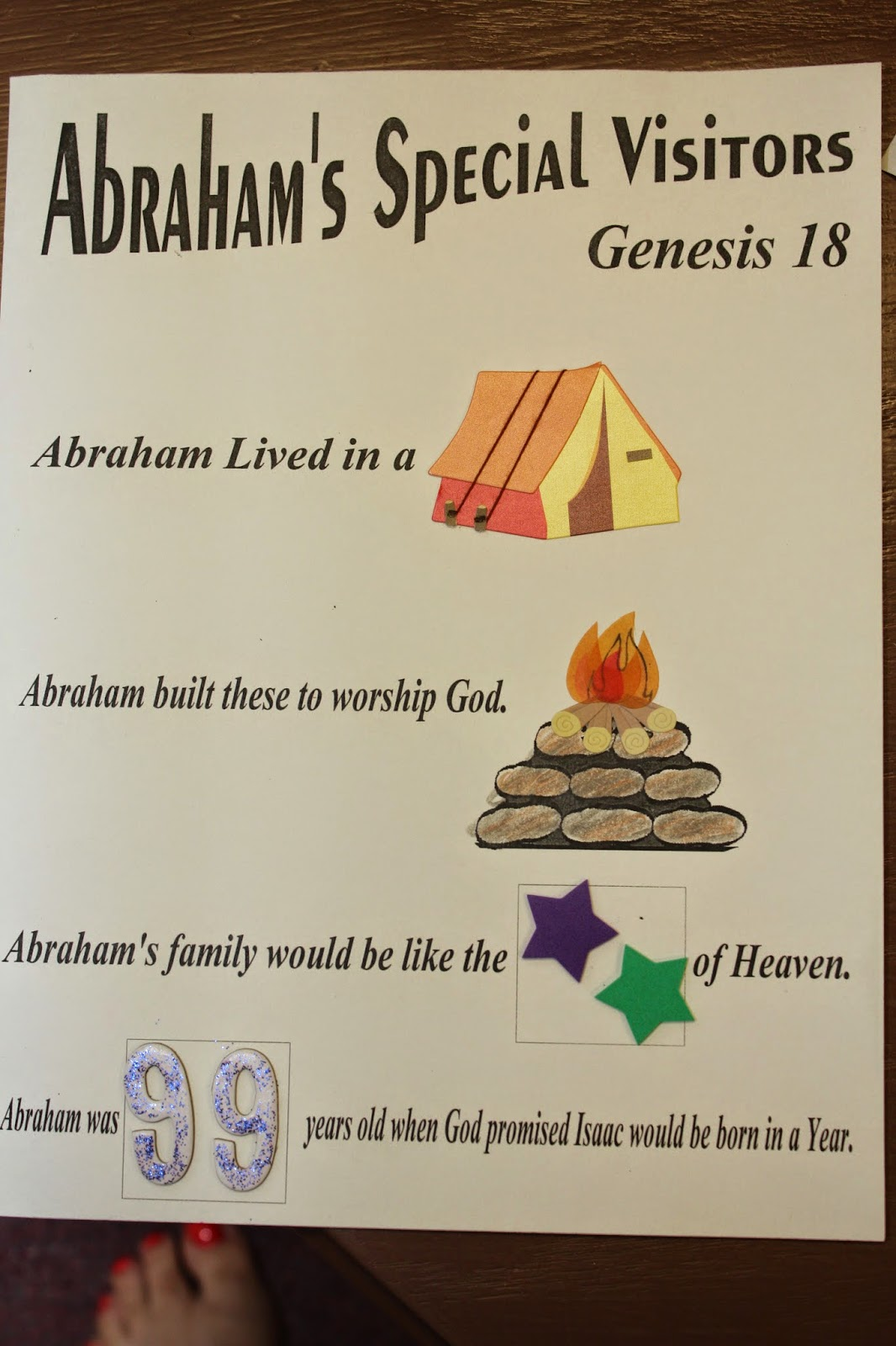I Love Teaching The Life Of Abraham
