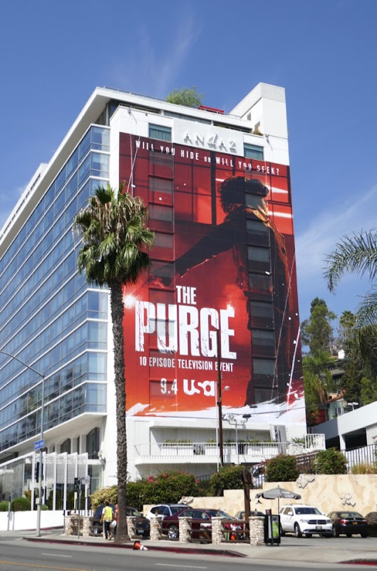 Purge giant series billboard
