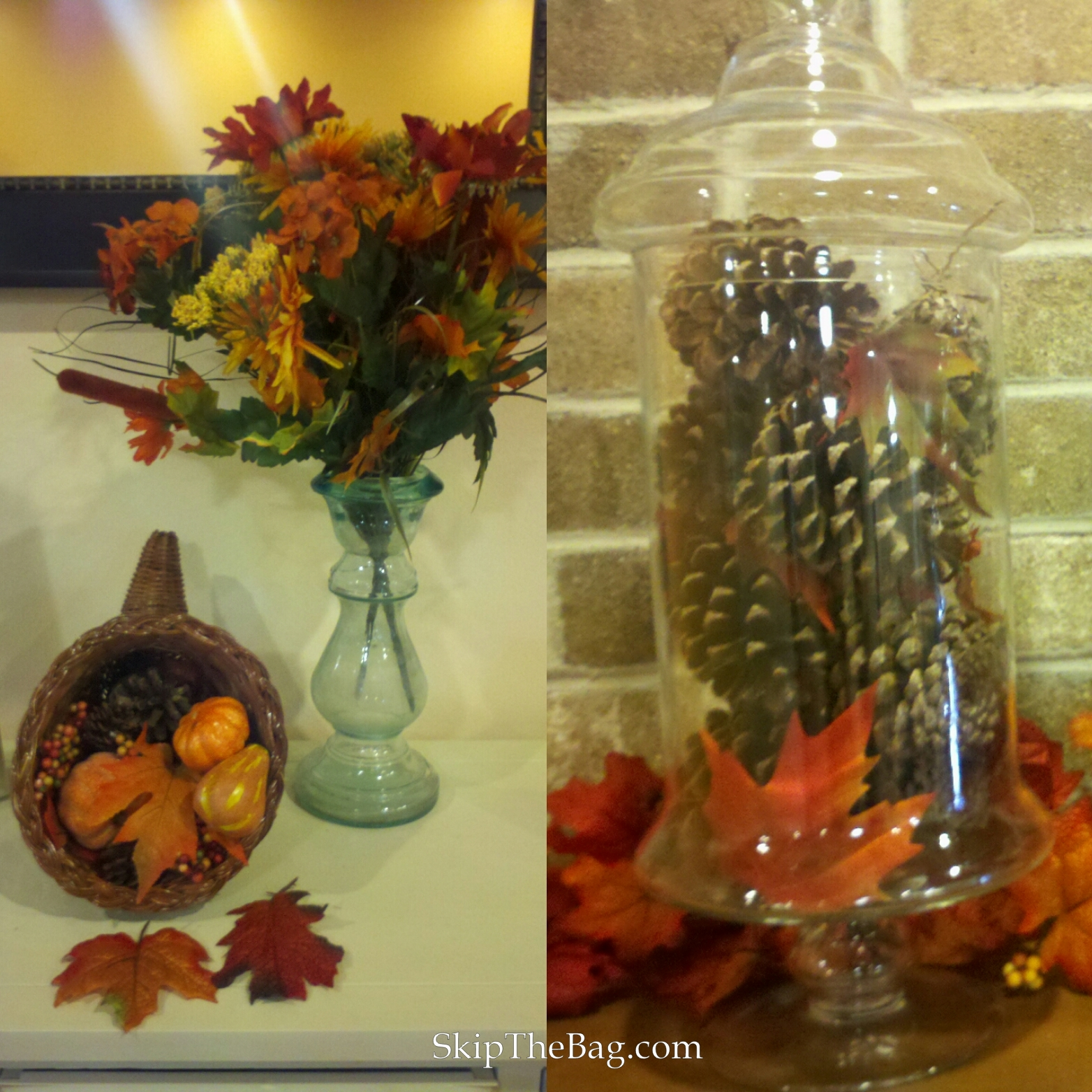 Skip the bag zero waste halloween ideas for Decoration with waste