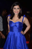 Mannara Chopra in Deep Neck Blue Gown at Zee Telugu Apsara Awards ~  Exclusive 012.jpg