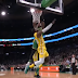 Jaylen Brown posterizes LeBron James as Celtics crush Lakers