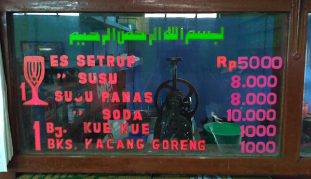 Es Sitrup SUDIMAMPIR dan Warna Segelas Rindu - Kuliner Pamekasan