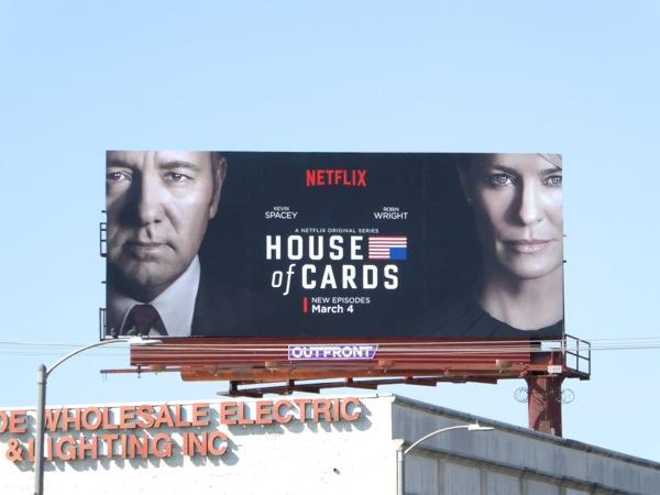 House of Cards season 4 billboard