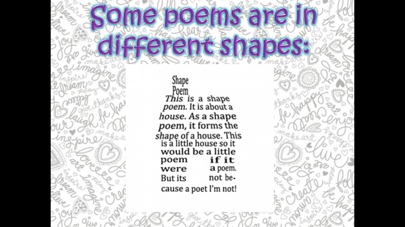 Poetry In The ESL Classroom (free Ppt Download!)
