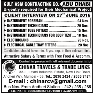 instrumentation jobs in abu dhabi uae