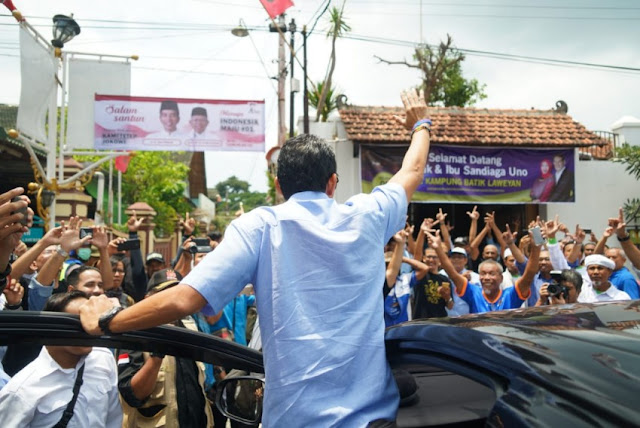 Capai Titik 1122 di Solo, Ini Kata Sandi Saat Kunjungi Sentra Batik Laweyan