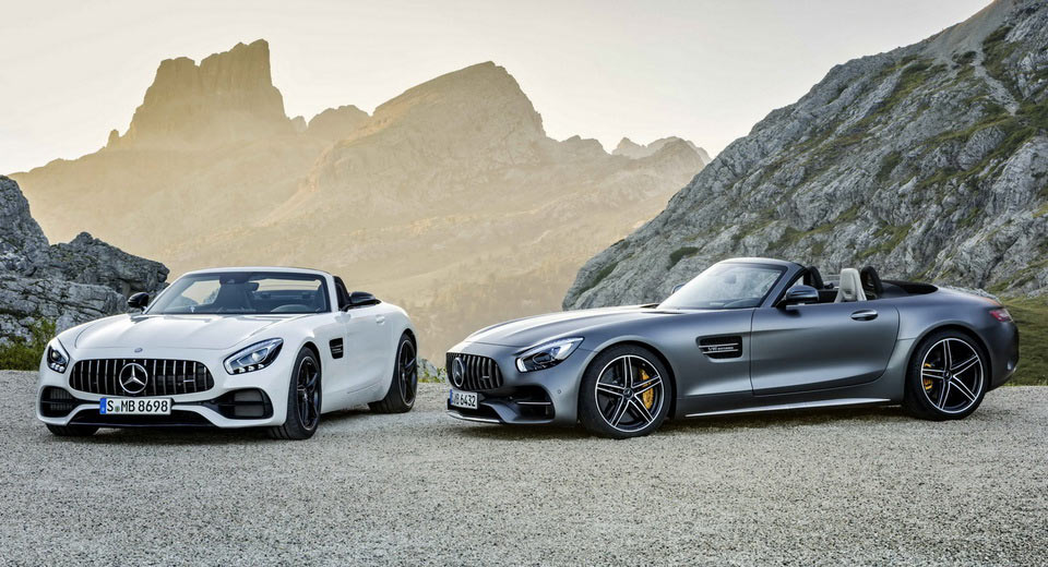 Drop-top Mercedes-AMG GT Roadster revealed