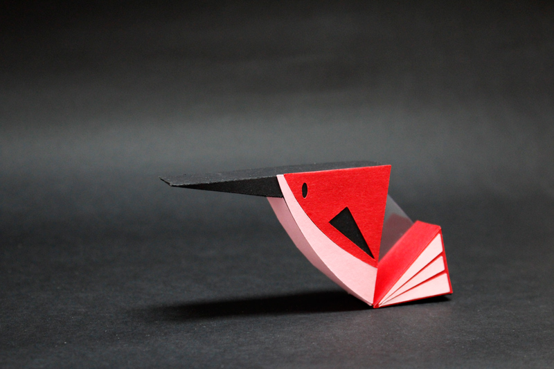 paper bird by Camille Epplin