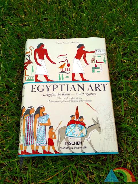 Portada del libro Egyptian Art de la Editorial Taschen