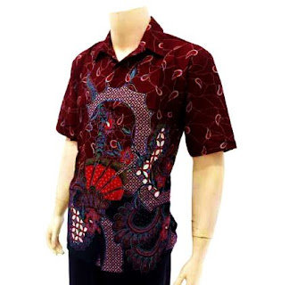 Model Baju Batik Remaja Lengan Pendek