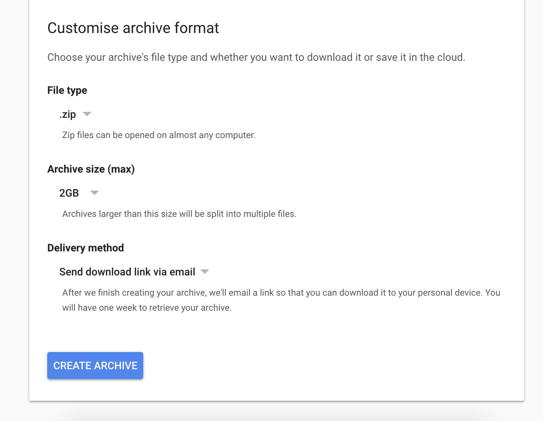 Google Plus Backup