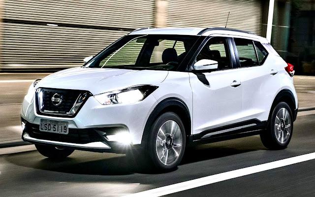 Nissan Kicks 2017 frente blanco