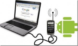Use Android Phone as Modem