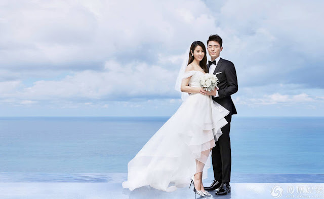 Ruby Lin Wallace Huo Bali Wedding 2016