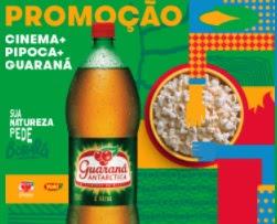 Cadastrar Promoção Cinema + Pipoca + Guaraná
